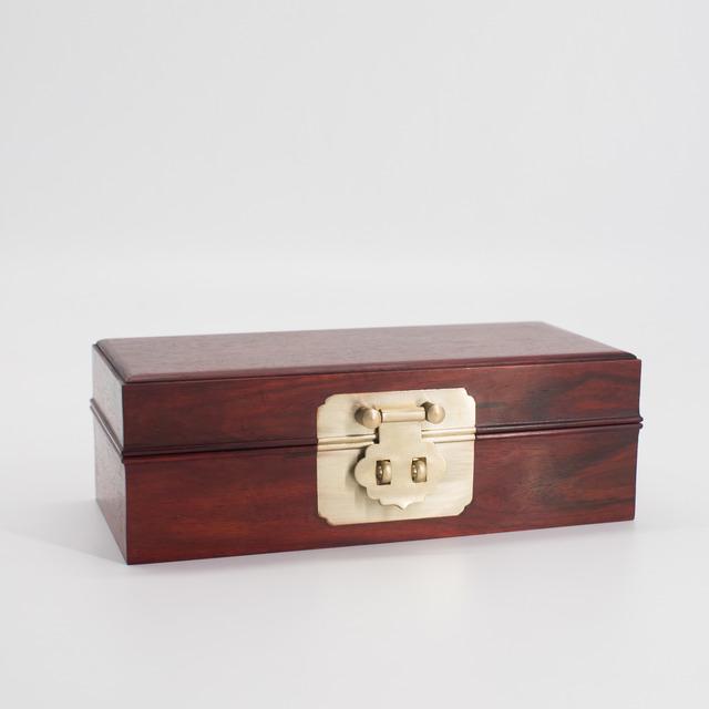 紫檀老料文盒