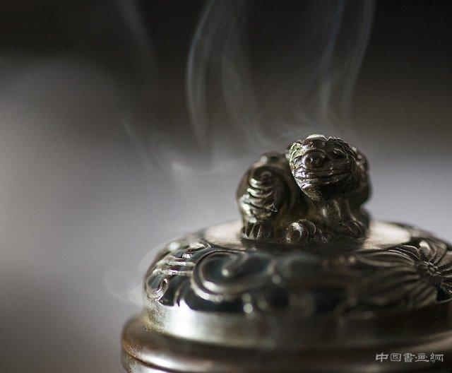 三足貔貅熏炉