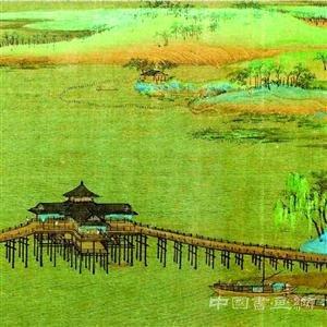 传世名画《千里江山图》 故宫本月全卷展出
