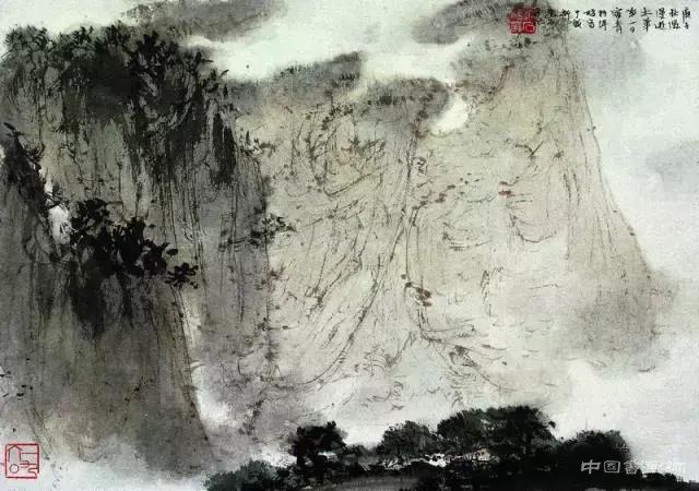 傅抱石:我畫畫的絕招兒