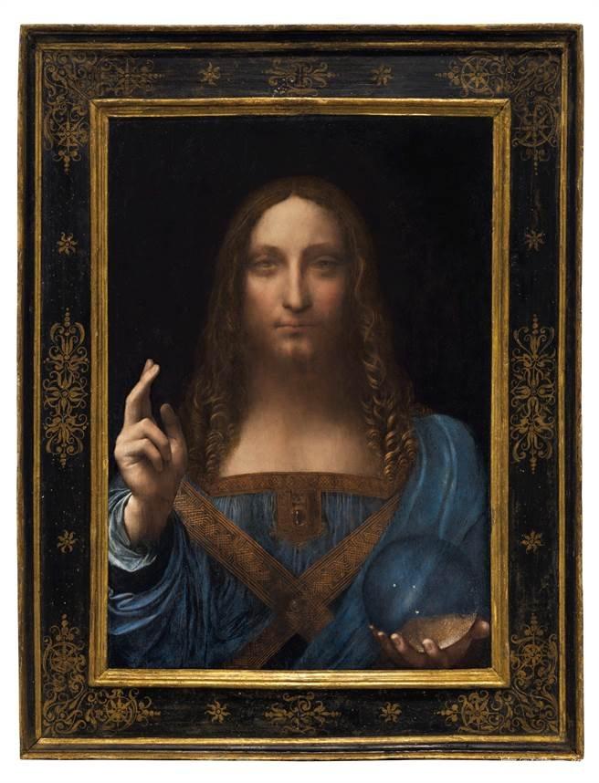 佳士得惊现达芬奇《救世主》,估价1亿美元