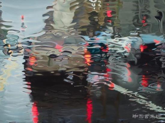 超写实主义油画:天空之下漫无经心