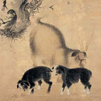 明清绘画中的画羊图说