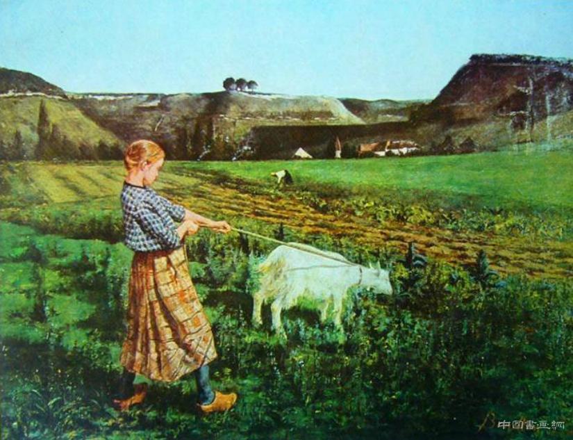 """1977年的那场""""农村风景画""""展览"""