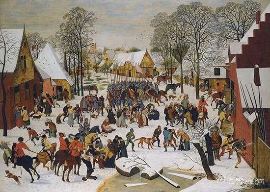 欧洲雪景画折射观念变化
