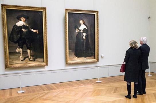 阿姆斯特丹国立博物馆将展修复后的伦勃朗肖像画
