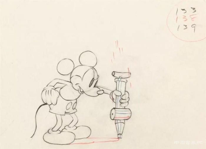 迪士尼《米奇的花园》手绘设计原稿
