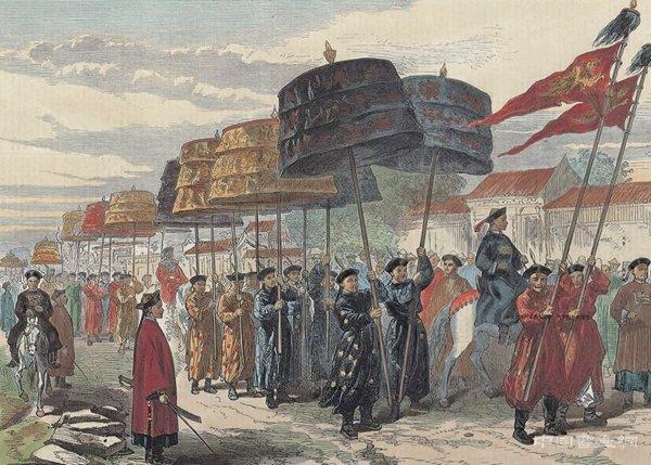 看西方版画中帝都北京的同治大婚