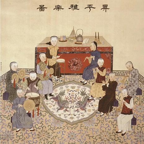 中国古代绘画中的戏楼
