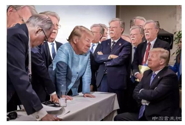 一张照片背后的故事!G7的超现实主义
