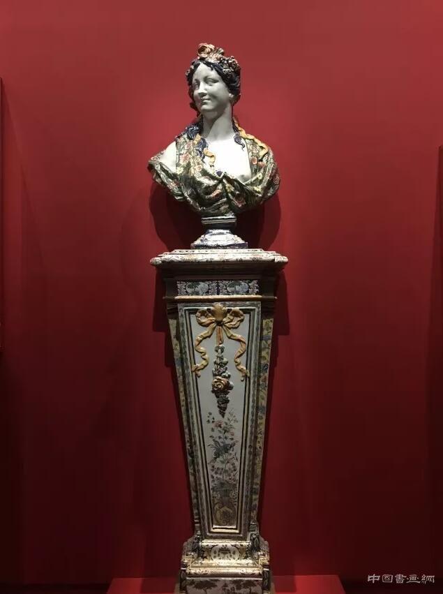 奥赛博物馆里的彩色雕塑