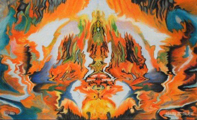 唤德·多元·艺术 朴墨心画展——多元艺术文脉载乾坤