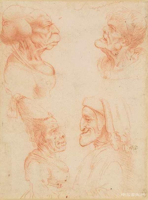 从荒诞到崇高 达·芬奇笔下的各种面孔