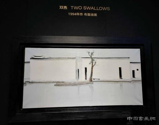 吴冠中两件《双燕》共拍出1.66亿