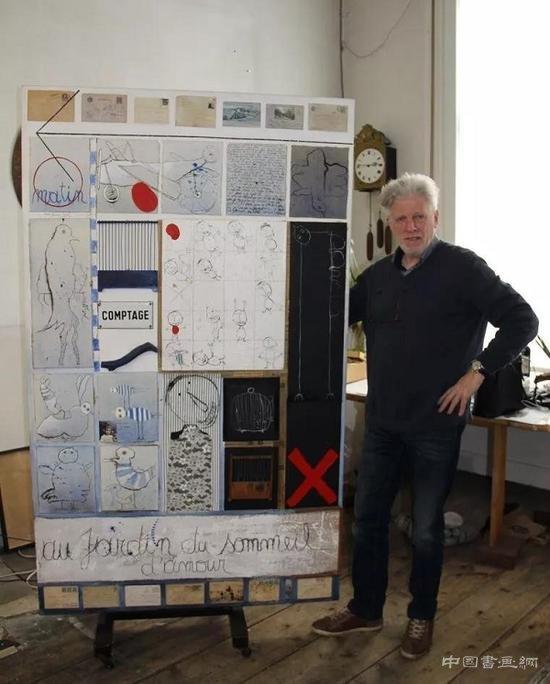 知名艺术家被指抄袭外国作品作品三十年?