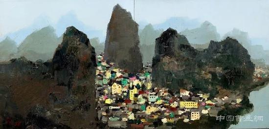 保利香港现当代艺术成交总额逾1.73亿港元