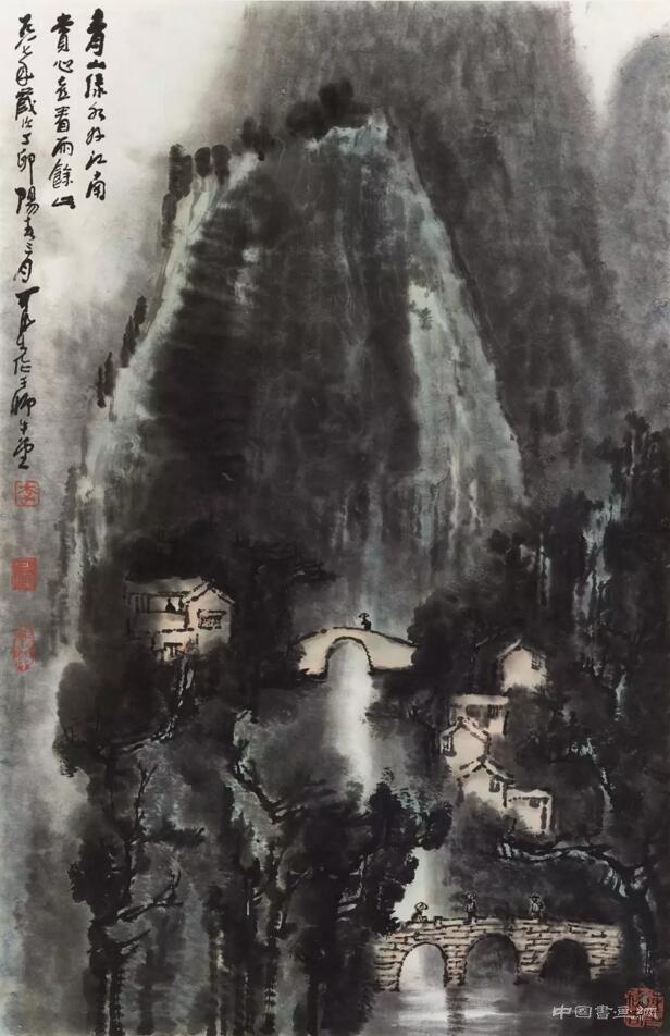 中国嘉德举办李可染翰墨集珍书画作品展
