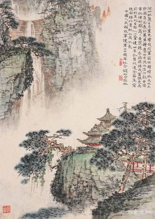 钱松嵒作品欣赏