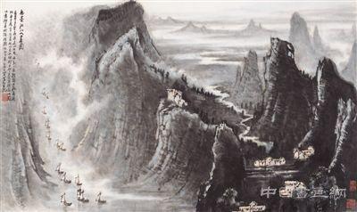 新中国70年山水画新貌:美在河山 大气磅礴
