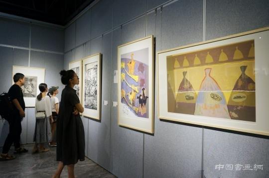 时代印痕——中央美术学院、广州美术学院版画联展