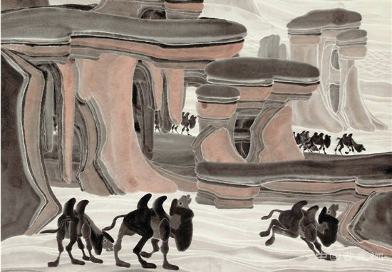 舒春光:从边塞诗到边塞画——对新疆山水画创作的探讨
