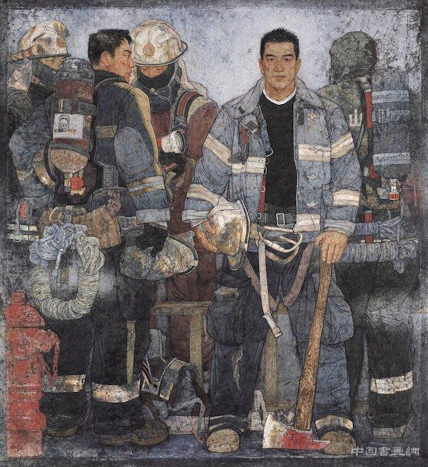 513件全国美术作品巡展上海
