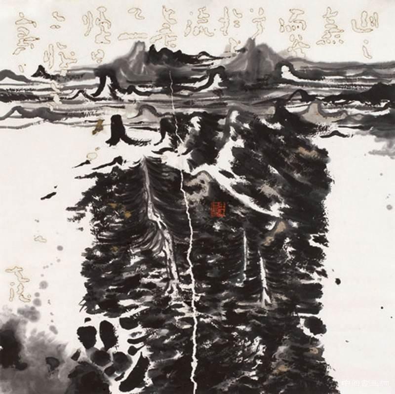 王天德在雪景山水里遣兴
