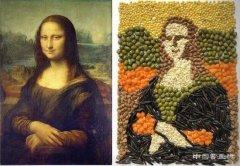 <b>卷心菜豆子=蒙娜丽莎 外国网友隔离期艺术脑洞大开</b>