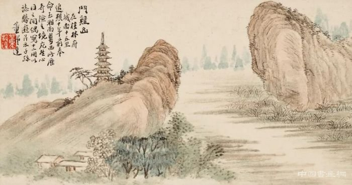 丹青妙笔绘河山