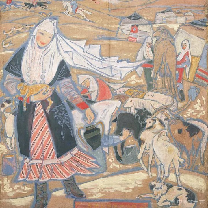 <b>董希文:从中国绘画的表现方法谈到油画中国风</b>