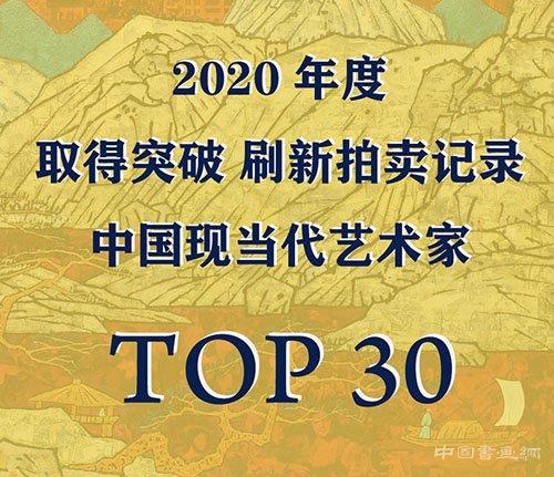 <b> 2020突破市场刷新拍卖记录的中国现当代艺术家TOP30(之一)</b>