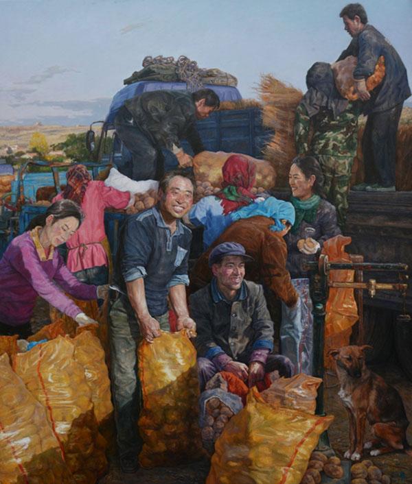 范迪安:丹青描绘脱贫攻坚的伟大画卷