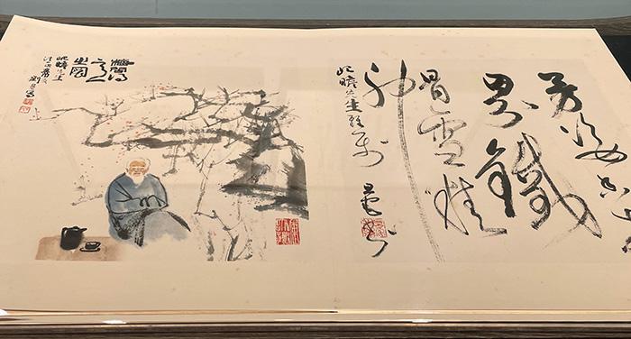 """""""赤心惟存""""纪念朱屺瞻诞辰130周年特展拉开序幕"""