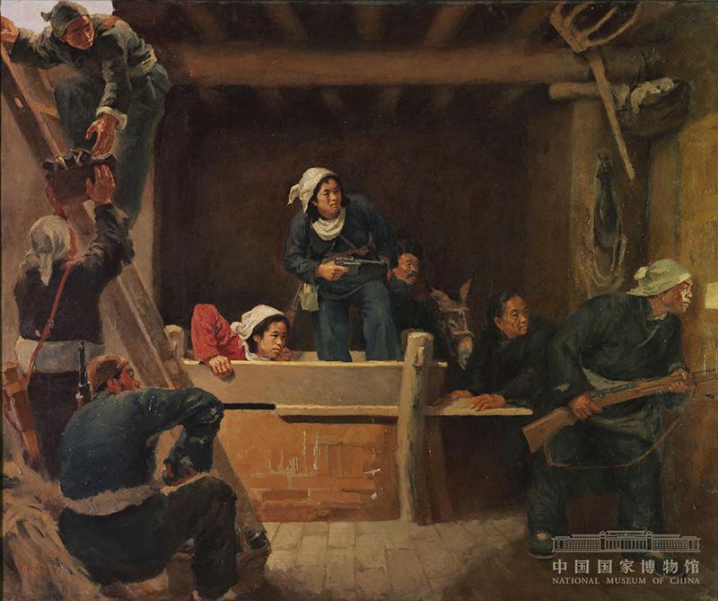 """""""无声诗里颂千秋:美术经典中的党史主题展""""在国家博物馆开幕"""