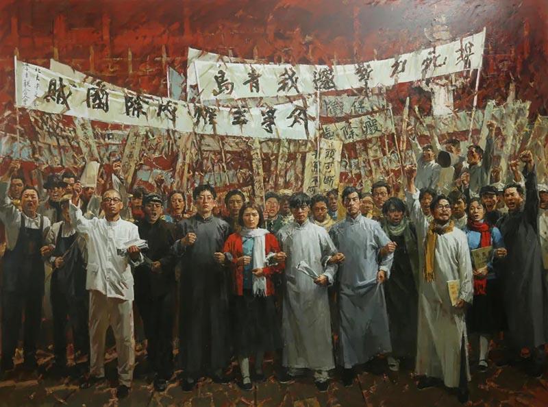 """百年辉煌:庆祝中国共产党成立100周年暨""""百年追梦 浙江美术书法百件力"""