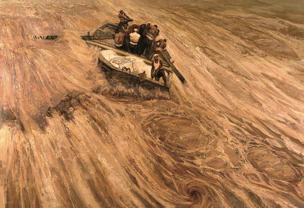 """<b>""""在激流中前进:中国美术馆藏黄河题材美术精品展""""明日开幕</b>"""