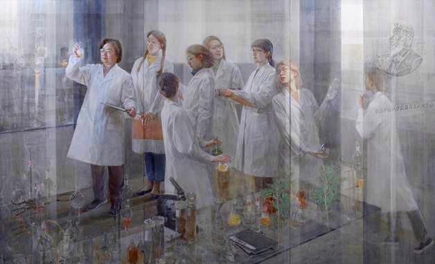 美在科技:中国美术馆藏科技题材美术作品展 今日揭幕