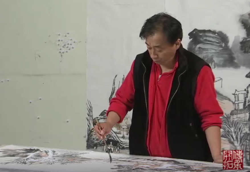 <b>中国画名家纪录片《薪火相继 姚鸣京》</b>