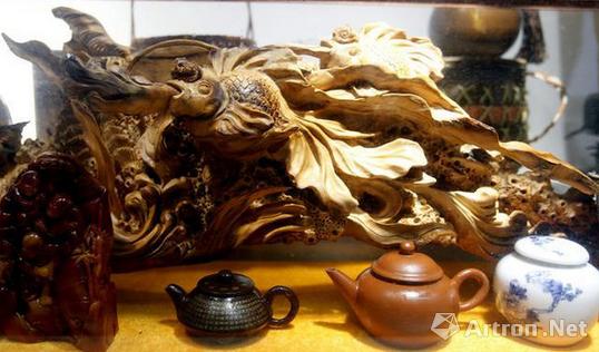 琥珀蜜腊,木雕根雕